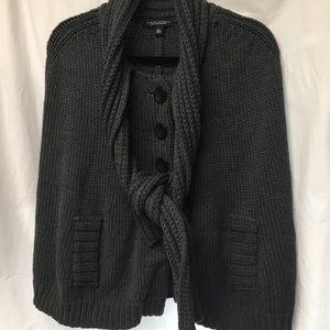 Banana Republic Merino Wool Shawl Sweater M/L